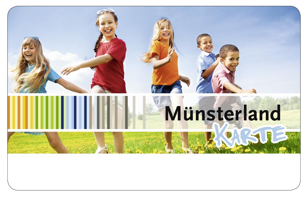 münsterland karte Münsterlandkarte   Kreis Steinfurt
